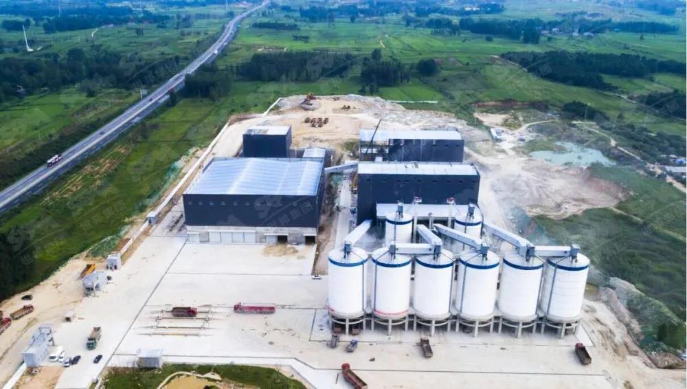 河南时产1500吨高品质制砂生产线