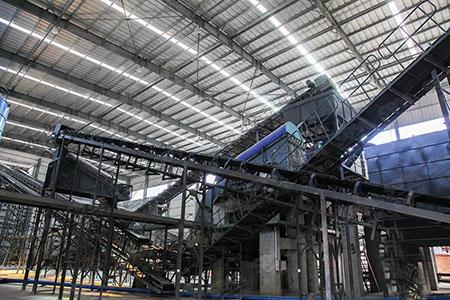 甘肃华建新材年产300万吨环保机制砂生产线