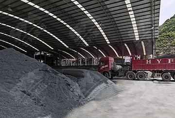 陕西时产50-60吨铁尾矿移动制砂生产线