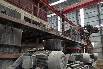 广西时产500吨花岗岩制砂生产线