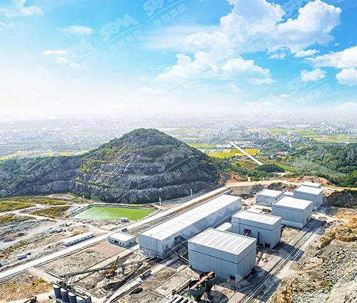 浙江余姚年产400万吨机制砂项目