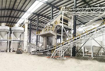 甘肃时产400吨建筑固废&戈壁滩石破碎生产线