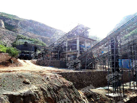 河北时产800-1000吨精品制砂生产线