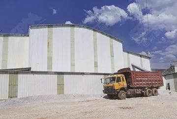 云南时产500吨石灰石破碎生产线