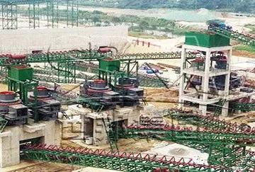湖南时产500吨河卵石/石灰石破碎制砂生产线