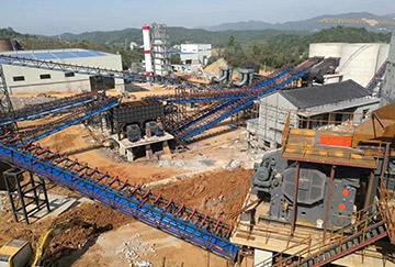 湖南时产800-1000吨石灰石破碎制砂生产线