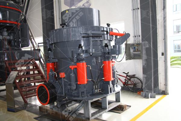 多缸液压圆锥破碎机飞溅泄油怎么办?怎么解决