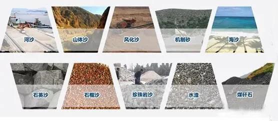 河砂、机制砂、水洗砂、再生骨料、尾矿制砂等都能用于混凝土?有何差别?